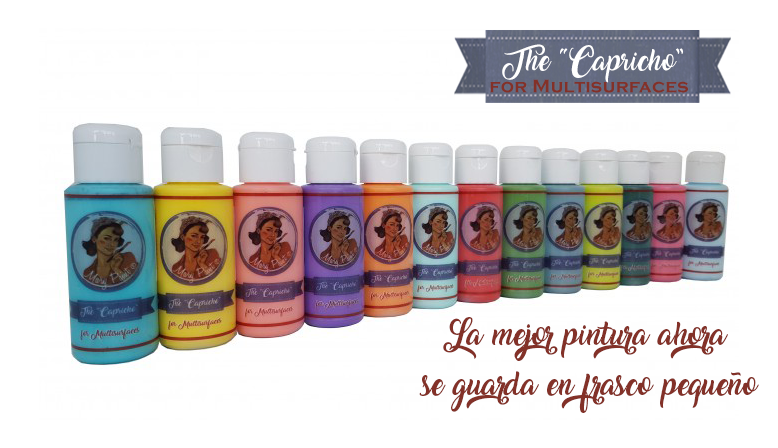The Capricho - Ahora en frasco pequeño - Siempre Mary Paint